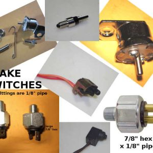 harley brake light switches