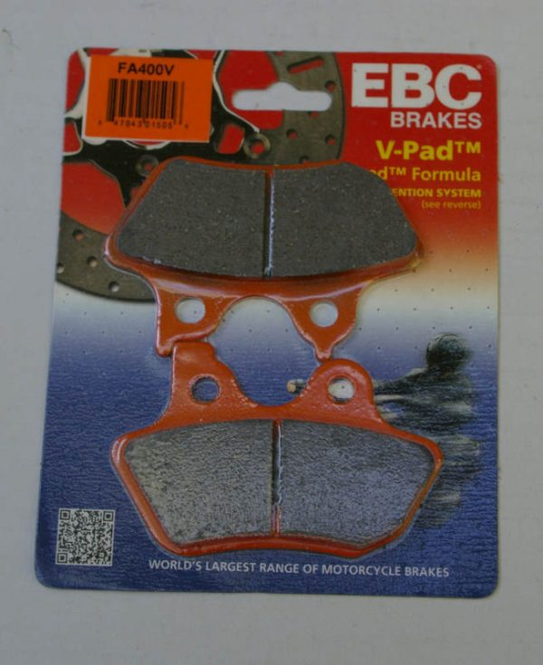 ebc brake pads for 2000-2007 harley-davidson's