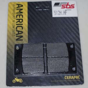 brake pads by SBS for GMA A calipers