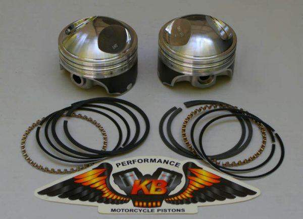 big bore pistons for knucklehead, panhead and shovelheads 3 5/8""